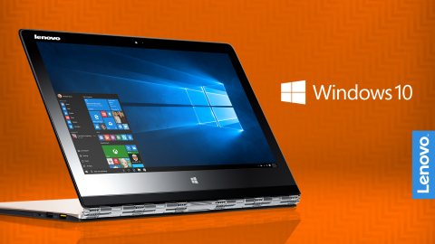 Lenovo to have PCs running Windows 10 starting July 29 (Photo: Business Wire)