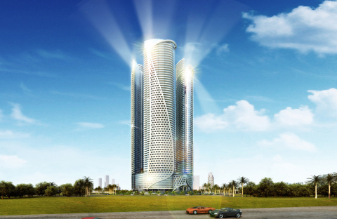 DAMAC Towers by Paramount Hotels & Resorts - one of the many iconic projects under development in Dubai by DAMAC Properties. (Photo: Business Wire)