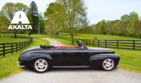 Axalta will feature rare 1942 Ford Super Deluxe Convertible painted by Jeff Kinsey with Axalta's Chr ...