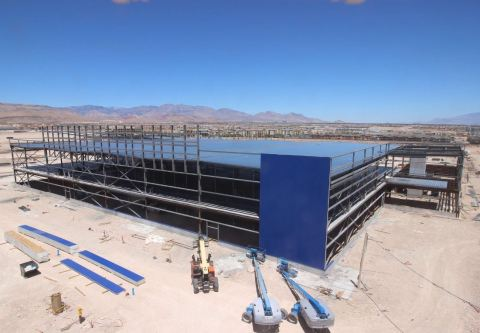 Construction progresses on future ikea las vegas as iconic for Ikea draper ut heures