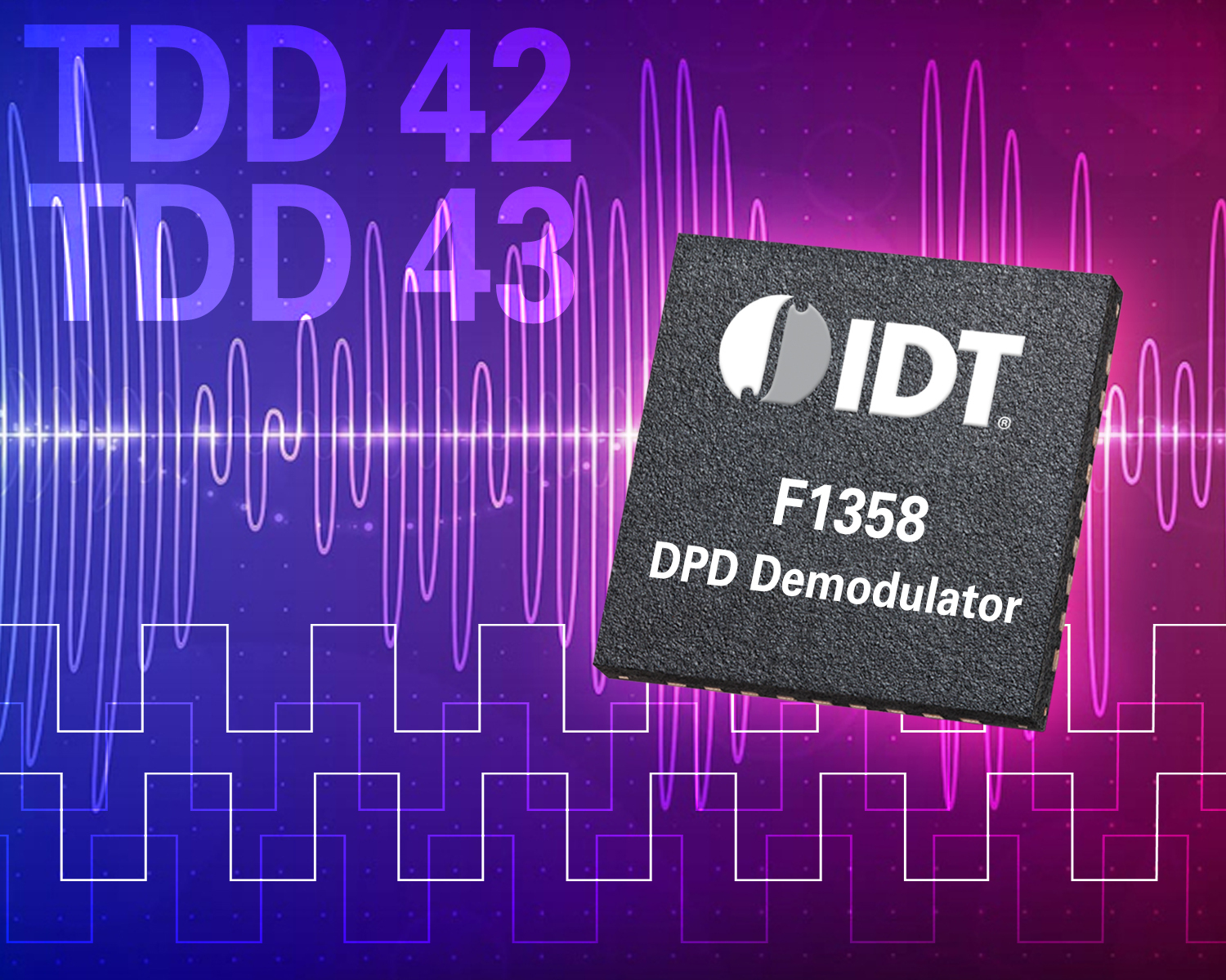 Idts New Digital Pre Distortion Demodulator Delivers Industry Low Rf To If Mixers Leading Performance For Cellular Base Stations Business Wire