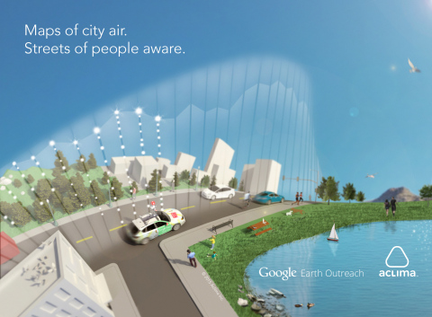 Aclima+Google: Mapping How Our Cities Live and Breathe. (Graphic: Business Wire)