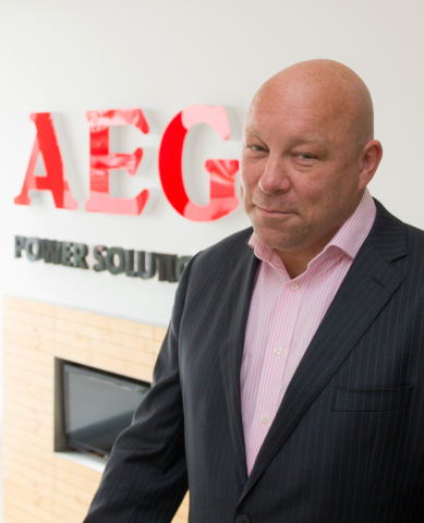 Paul Radcliffe, Vice-President Global Service, AEG Power Solutions (Photo: Business Wire)