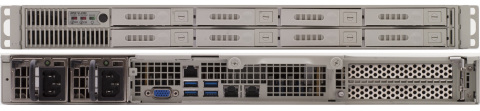 SWAP-Optimized, Eight Drive RES-XR5-1U Rack Mounted Server (Photo: Business Wire)