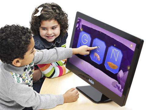 El nuevo software de Hatch® ayuda a los niños de edad preescolar a desarrollar habilidades de lectur ...
