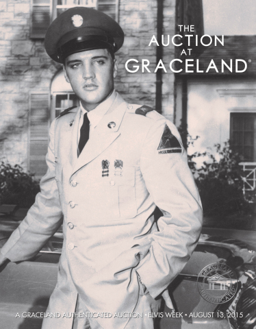Invaluable today announced that it is partnering with Graceland Auctions to offer online bidding on The Auction at Graceland, taking place at 7:00 pm CDT on August 13, 2015, during Elvis Week 2015. (Photo: Business Wire)
