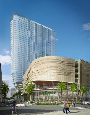Ward Village Ae'o Exterior Rendering with Whole Foods Market (Photo: Business Wire)