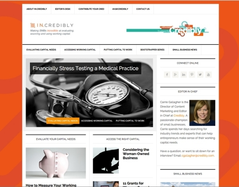 In.Credibly offers expert advice, productivity tips and more. (Graphic: Business Wire)