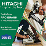 lowes now offers the broadest selection of hitachi power tools with a lineup of tools
