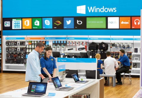 Best buy launches specialized windows 10 training classes for Best place to buy windows for house