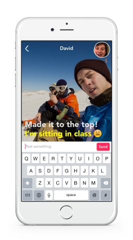 Introducing Yahoo Livetext - A New Way to Connect. A live video texting app, without audio, for iPho ...