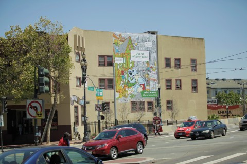 PaintCare works with Bay-Area artist to install the second of three murals to get Californians to re ...