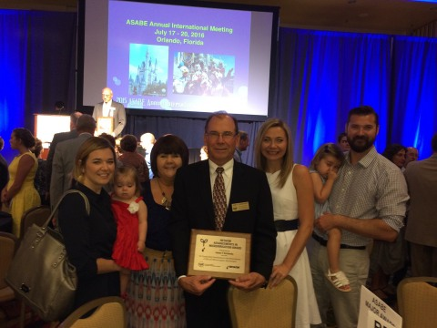 James P. Bordovsky, P.E., of Texas A&M AgriLife Research, was honored as the recipient of the second ...