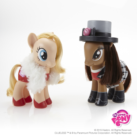 Spend the International Day of Friendship without my BFF? As if! Join the MY LITTLE PONY brand and celebrate International Day of Friendship on July 30, 2015. Follow #MLPFriendshipDay and visit the MY LITTLE PONY Facebook page to view more pony pals inspired by some of pop culture's beloved best friends: https://www.facebook.com/mylittlepony CLUELESS ™ & © by Paramount Pictures Corporation. All Rights Reserved. (Photo: Business Wire)