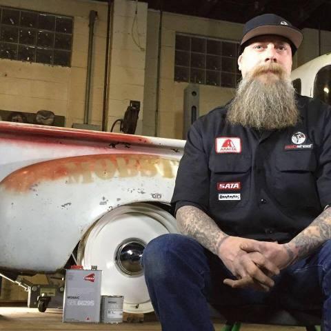 Ron Coan, Mobsteel custom painter and reality TV star. (Photo: Axalta)
