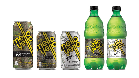 Mello Yello Goes Camo in New Partnership with Realtree (Photo: Business Wire)