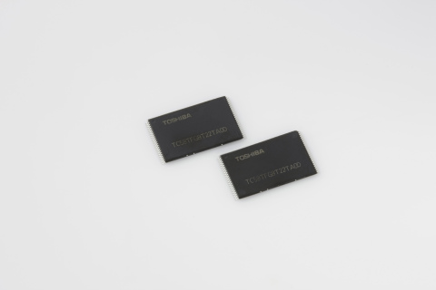 世界初の48層積層プロセスを用いた256ギガビットの3次元フラッシュメモリ「BiCS FLASH(TM)」(写真:ビジネスワイヤ)