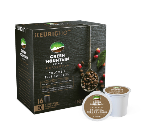 Green Mountain Coffee Reserve Colombia Tres Bourbon (Photo: Business Wire)