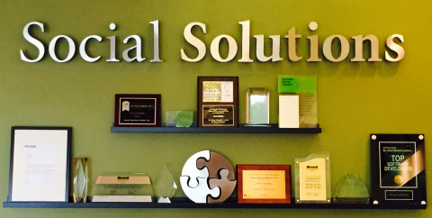 Social Solutions Global's Wall of Fame (Photo: Business Wire)