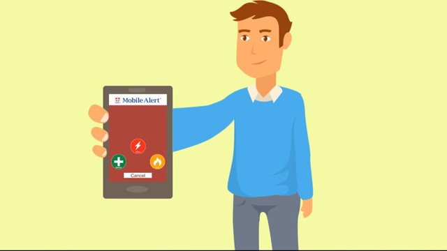Mobile personal security now available on your smartphone.