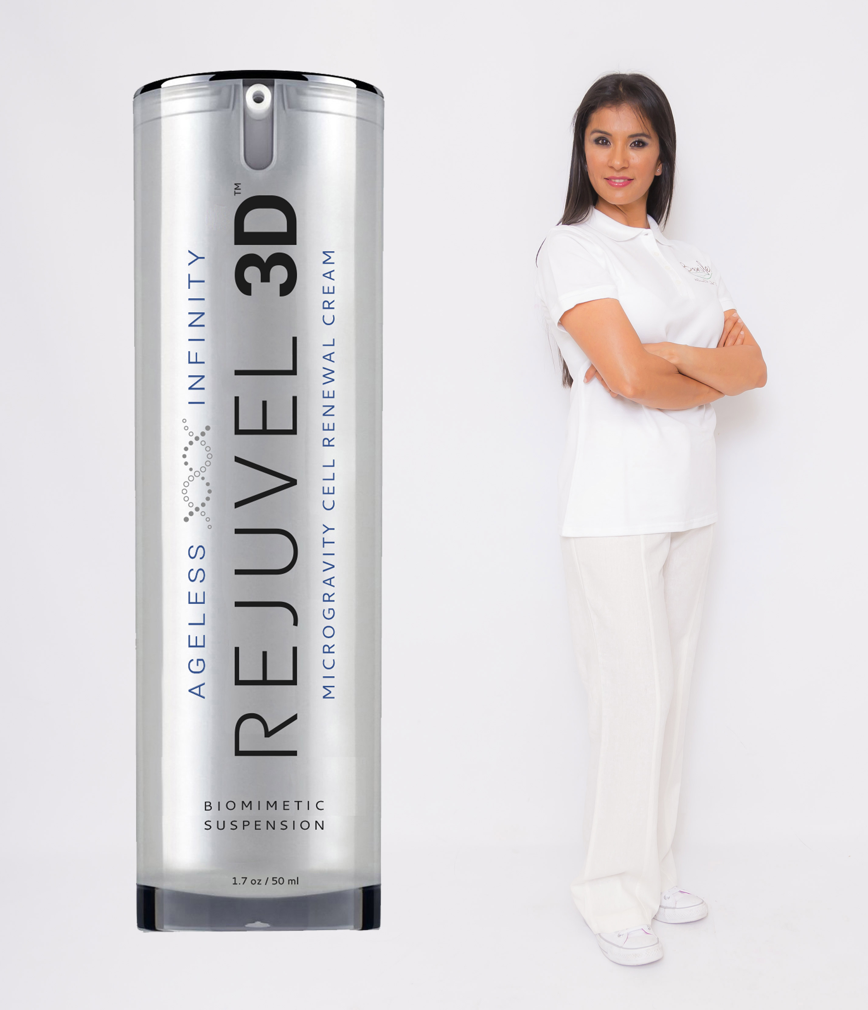 """""""My spa has more than 200 members, who come in once or twice a month. I know their skin very well. Rejuvel was able to improve skin that I had been trying to change for years. I love the product — and my clients crave it."""" - Beniley Llorens. (Photo: Business Wire)"""