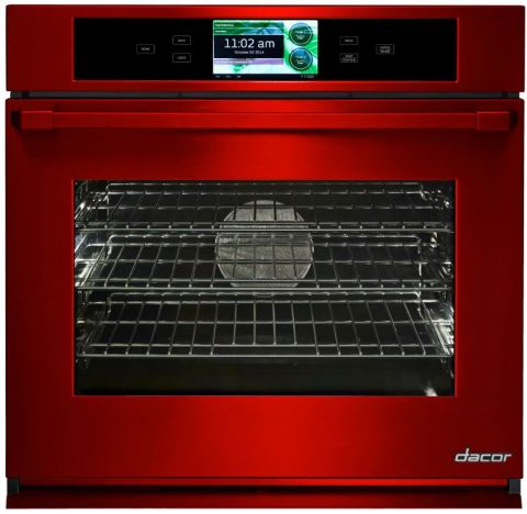 Dacor Discovery iQ 30-inch Wall Oven in DacorMatch Sangria (Photo: Business Wire)