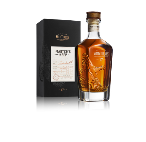 Wild Turkey Master's Keep marks the end of a 17-year 200-mile journey for the distillery's oldest bourbon in the U.S. to date. (Photo: Business Wire)