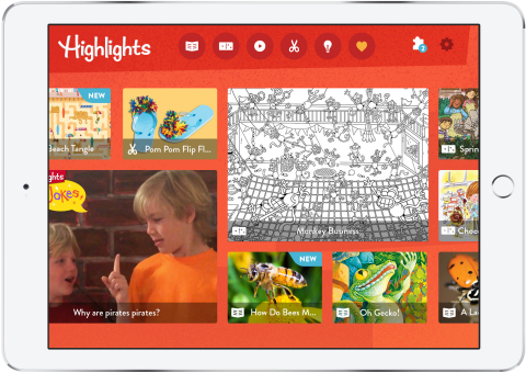 Highlights For Children on Mobile (Photo: Business Wire)