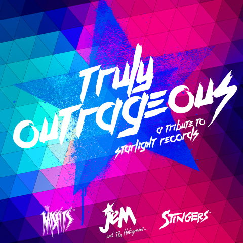 Hasbro Studios and Sony Music/Legacy Recordings to Release Truly Outrageous: A Jem and the Holograms Tribute, on Friday, August 7. (Photo: Business Wire)