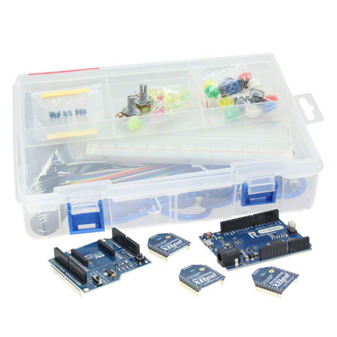 The Digi International XBee/Arduino-Compatible Coding Platform Kit (Photo: Business Wire)