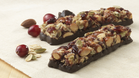 Brookside Fruit & Nut Bar Cherry with Pomegranate flavor (Photo: Business Wire)