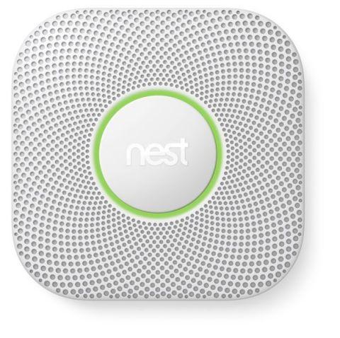 Nest Protect(TM) smoke and carbon monoxide alarm (Photo: Business Wire)