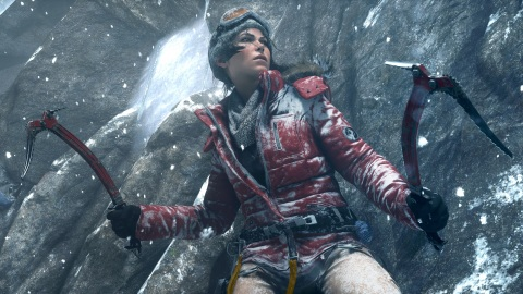 Lara Croft in Rise of the Tomb Raider (C) 2015 Square Enix Ltd. All rights reserved.