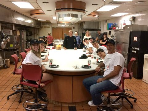 Fans with KFC Head Chef Bob Das (Photo: Business Wire)