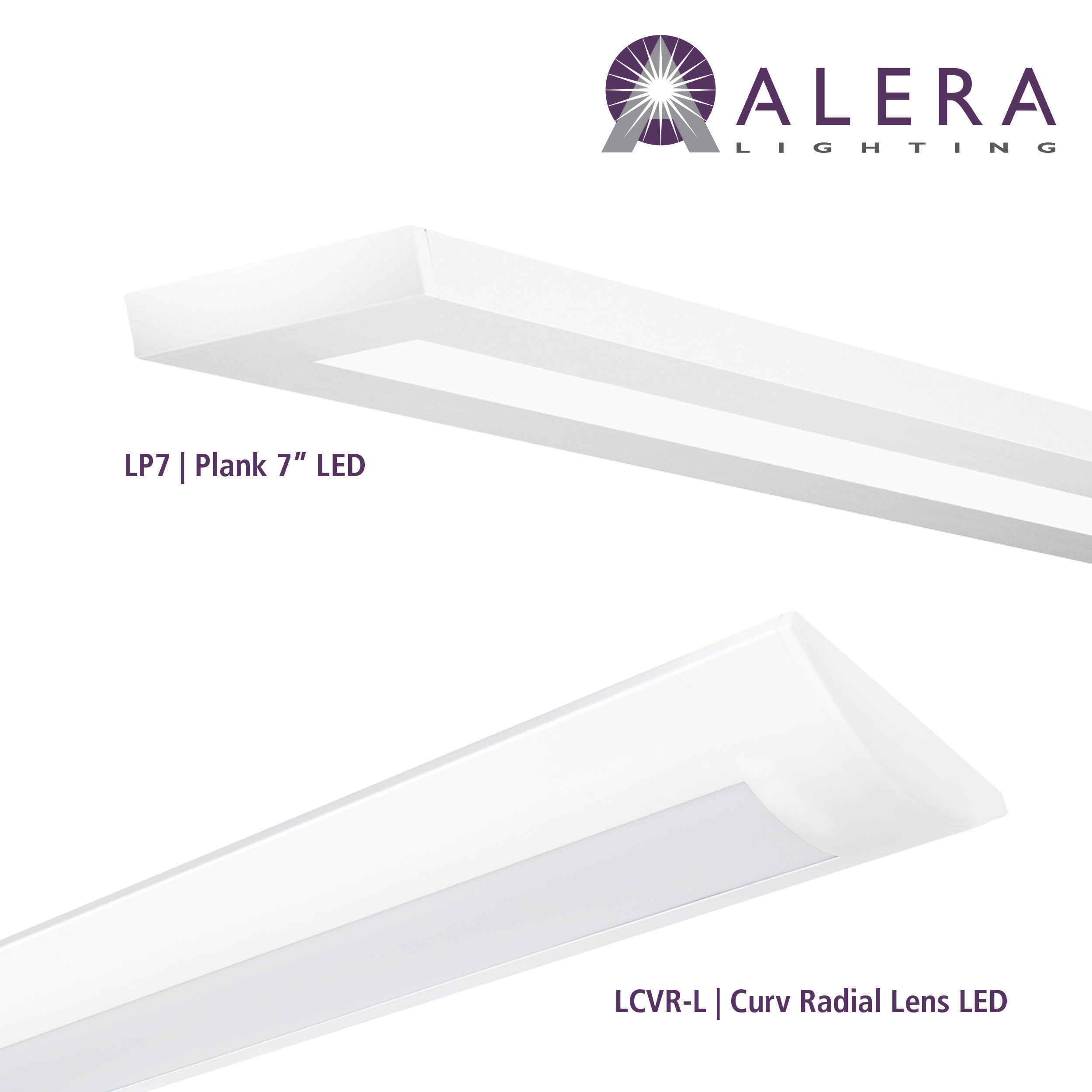 Alera lighting introduces two new linear led lighting fixtures alera lighting introduces two new linear led lighting fixtures plank and curv radial lens business wire arubaitofo Choice Image