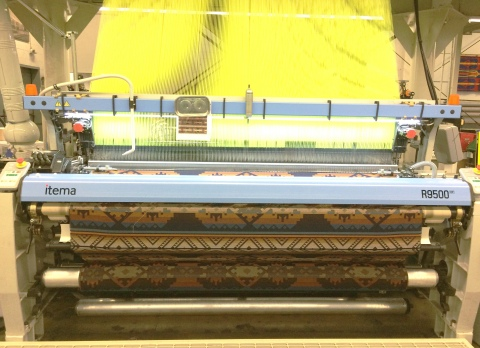 Jacquard Loom Machine at original mill in Pendleton, Oregon (Photo: Business Wire)