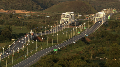 Kyocera is completing Brazil's largest highway solar-lighting project on the Arco Metropolitano do R ...