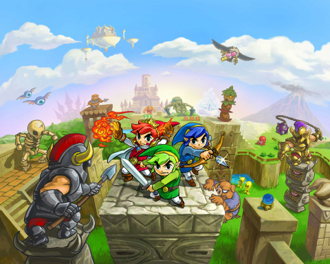 Nintendo 3DS owners looking to embark on a legendary adventure will get their chance when The Legend of Zelda: Tri Force Heroes launches for the Nintendo 3DS family of systems on Oct. 23. (Photo: Business Wire)