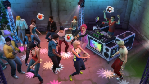 EA ANNOUNCES THE SIMS 4 GET TOGETHER EXPANSION PACK (Graphic: Business Wire)