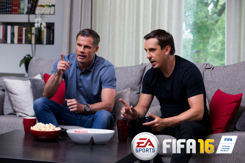 EA SPORTS UNVEILS FIFA ULTIMATE TEAM DRAFT - AN ALL NEW WAY TO PLAY FIFA 16 (Photo: Business Wire)