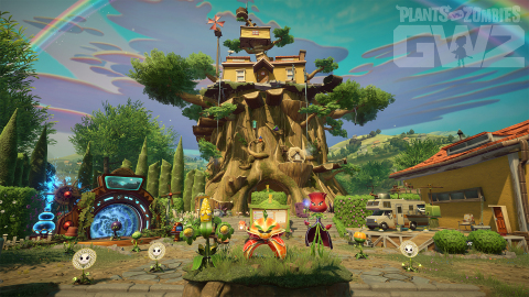 PLANTS VS. ZOMBIES GARDEN WARFARE 2 INTRODUCES MORE WAYS TO PLAY WITH NEW BACKYARD BATTLEGROUND (Graphic: Business Wire)
