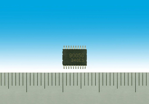 "Toshiba: ""TB9005FNG"", a 5-volt constant voltage regulator for application in automotive systems (Pho ..."