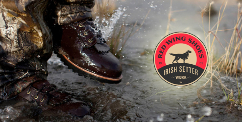 Siteworx Launches Irish Setter eCommerce Site (Graphic: Business Wire)