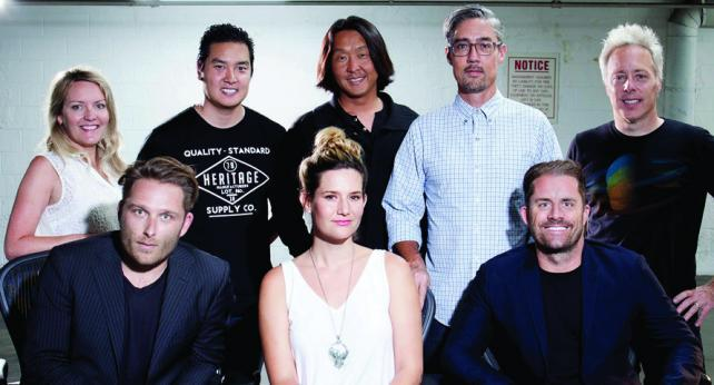 The creative minds at Battery, silver medal winner of 2015 Ad Age Small Agency of the Year 1-10 employees (Photo: Business Wire)