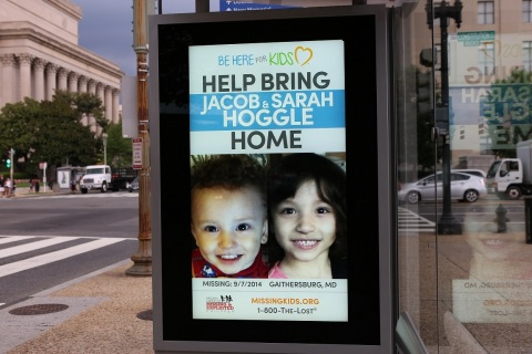 """Clear Channel Outdoor Americas joins the National Center for Missing & Exploited Children's """"Summer of Hope"""" with digital out-of-home media in Washington, D.C. and Baltimore, Md."""