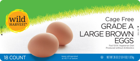 Wild Harvest plans to make all shell eggs cage-free by year end (Photo: Business Wire)