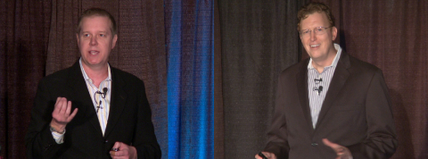 Samsung Keynote Co-Presenters at Flash Memory Summit 2015 (Photo: Business Wire)