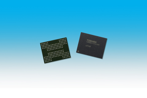 16-die Stacked NAND Flash Memory with TSV Technology (Photo: Business Wire)