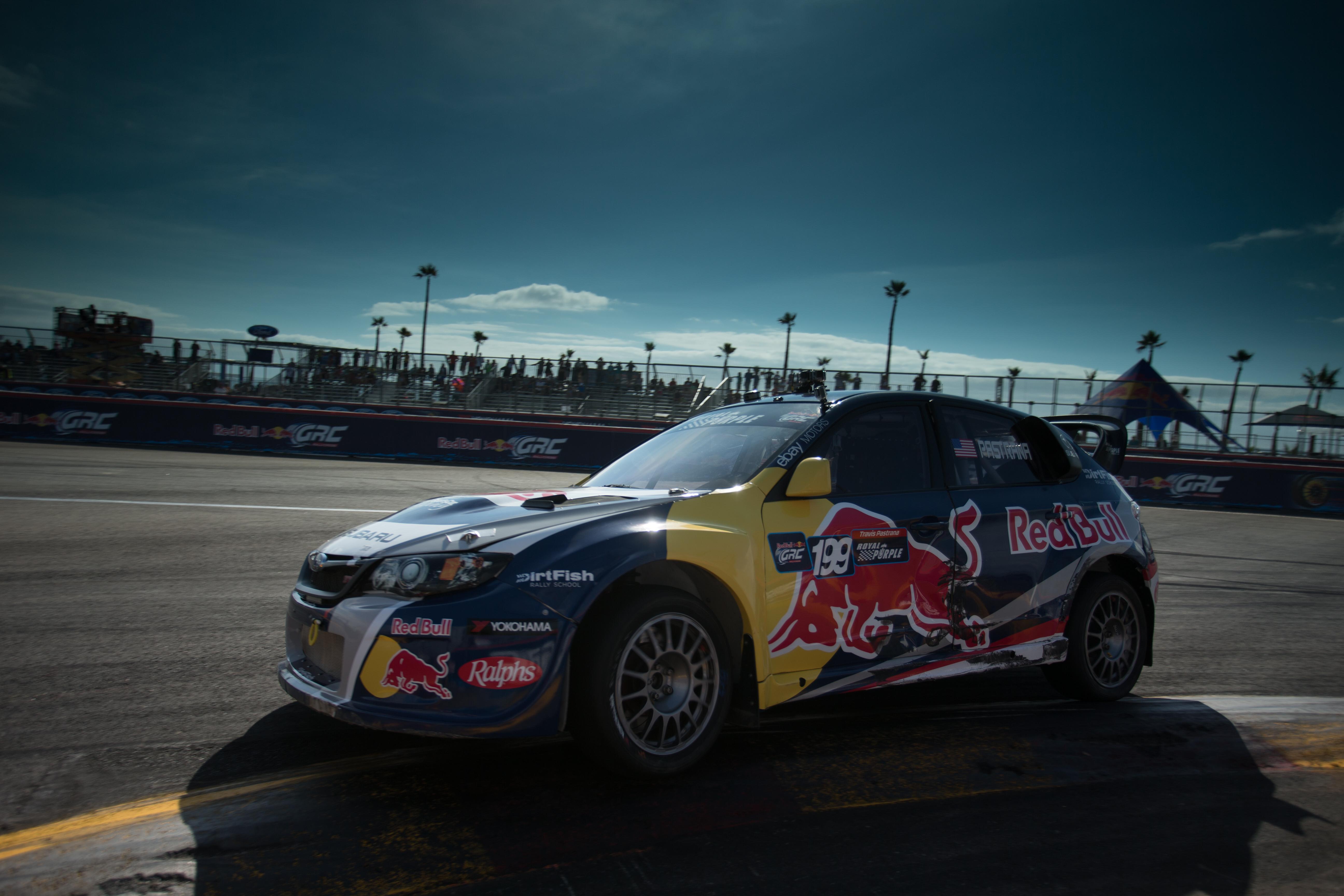 red bull global rallycross returns to port of los angeles