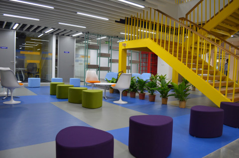 Visa's new technology development center in Bangalore, India. (Photo: Business Wire)
